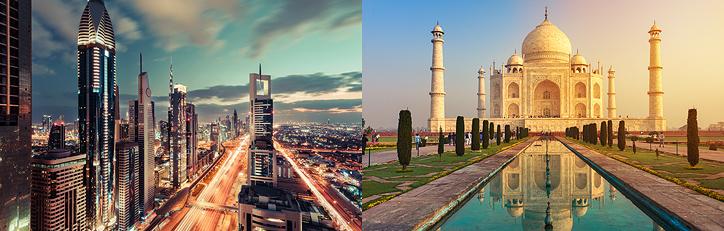 INDIA, DUBAI Y EGIPTO CON CRUCERO