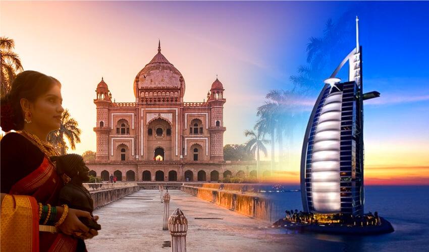 LAS ESTRELLAS DE INDIA Y DUBAI