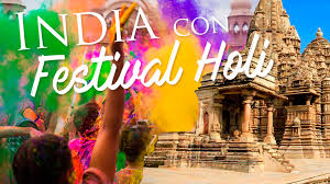 "NORTE DE LA INDIA CON FESTIVAL DE COLORES ""HOLI"""