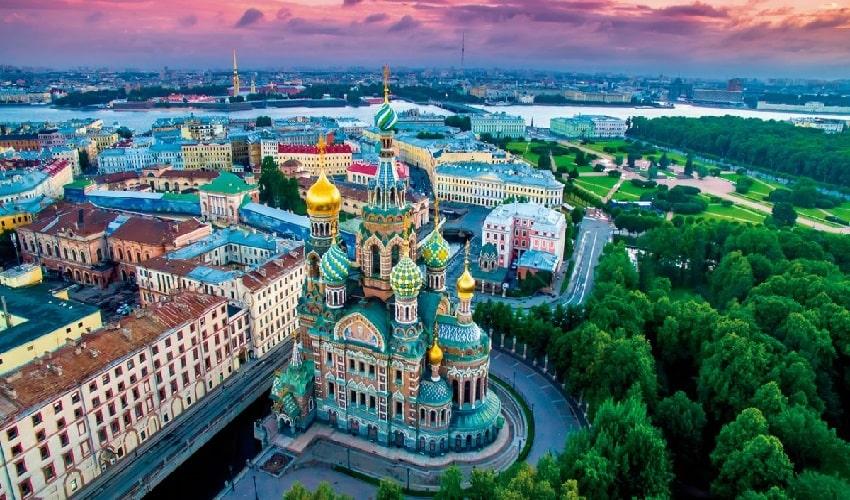 CAPITALES IMPERIALES SAN PETESBURGO Y MOSCÚ