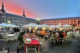 PARÍS, MADRID Y LISBOA