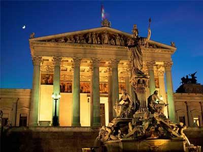 DE VIENA A ROMA